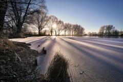 Winter, Snow, Water, Sky royalty free stock image