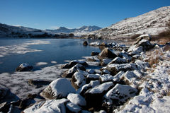 Winter in Snowdonia Stock Photo