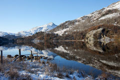 Winter in Snowdonia Stock Photos