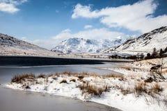 Winter in Snowdonia Stock Photo