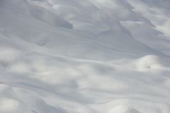 Winter Snowfield Stock Photography