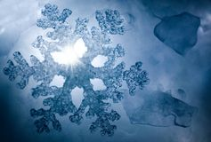 Winter Snowflake Royalty Free Stock Photography