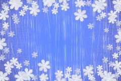 Winter snowflake background Royalty Free Stock Image
