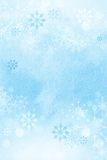 Winter snowflake background. Stock Photography