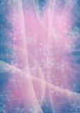 Winter snowflake background Stock Image