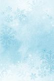 Winter snowflake background. Royalty Free Stock Photo