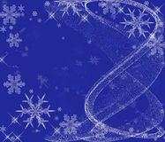 Winter Snowflakes Royalty Free Stock Images