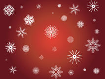 Winter snowflakes. A selection of Detailed Snowflake designs - additional ai and eps format available on request Royalty Free Stock Photos