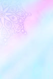 Winter snowflakes artistic background. Subtle winter snowflakes artistic background in blue and pink Stock Images