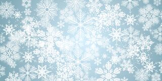 Free Winter Snowflakes Background Stock Image - 203217241