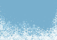 Winter Snowflakes Background Royalty Free Stock Image