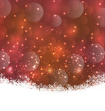 Winter snowflakes background with copy space for your text Royalty Free Stock Photography