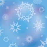 Winter Snowflakes Background Illustration Royalty Free Stock Photos