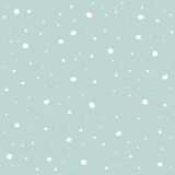 Winter, Snowflakes blue background, wallpaper Royalty Free Stock Photo