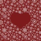 Winter snowflakes dark  Stock Photo