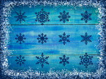 Winter snowing background Stock Photo