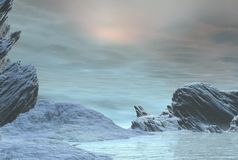 Winter Snowscape - 1 Royalty Free Stock Photos
