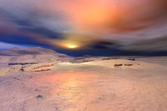Free Winter Snowscape - 3 Royalty Free Stock Image - 7069936