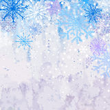 Winter snowstorm background Royalty Free Stock Images