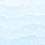 Winter snowy background Royalty Free Stock Photos