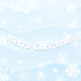 Winter snowy background Stock Photos