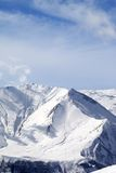 Winter snowy mountains Royalty Free Stock Image