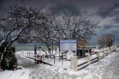 Winter in Sochi Royalty Free Stock Photos