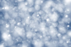 Winter soft blue light background Stock Image