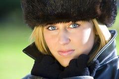 Winter-Sonnenschein Stockfoto