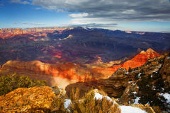 Winter, South Rim, Grand Canyon National Park, Arizona Stock Photo