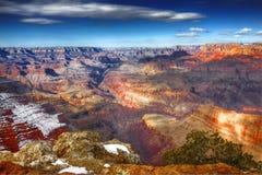 Winter, South Rim, Grand Canyon National Park, Arizona Royalty Free Stock Photo