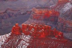 Winter, South Rim, Grand Canyon National Park, Arizona Royalty Free Stock Photos