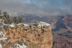 Winter at the South Rim Royalty Free Stock Photography
