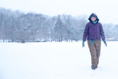 Winter-Spaß Lizenzfreie Stockfotografie