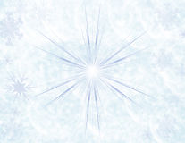 Winter sparkle blue background Stock Photography