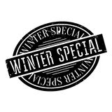 Winter Special rubber stamp Stock Images