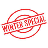 Winter Special rubber stamp Stock Photo