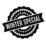 Winter Special rubber stamp Royalty Free Stock Photography