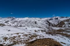 Free Winter Spiti - Landscape Of Spiti Valley, Himachal Pradesh, India / The Middle Land / Cold Desert Royalty Free Stock Photography - 122332217
