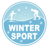 Winter sport Stock Photography