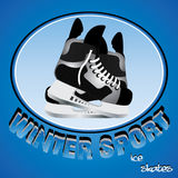 Winter sport Stock Photo