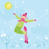 Winter sport Royalty Free Stock Images