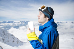 Winter Sport admission ticket Stock Images