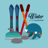 Winter Sport design Royalty Free Stock Images
