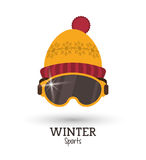 Winter Sport design. Winter concept with sport icons design, vector illustration 10 eps graphic Royalty Free Stock Image