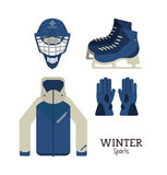 Winter Sport design. Winter concept with sport icons design, vector illustration 10 eps graphic Stock Photo