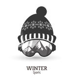Winter Sport design. Winter concept with sport icons design, vector illustration 10 eps graphic Royalty Free Stock Photos
