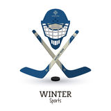 Winter Sport design. Winter concept with sport icons design, vector illustration 10 eps graphic Royalty Free Stock Photography
