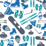 Winter Sport design. Winter concept with sport icons design, vector illustration 10 eps graphic Stock Photography