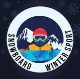 Winter Sport design Stock Photography